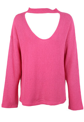 Pulover ZARA Violeta Pink