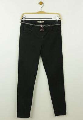 Pantaloni de stofa ZARA Carrie Dark Grey