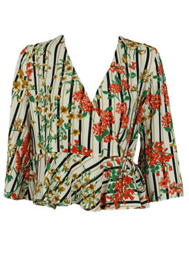 Bluza ZARA Floral Colors
