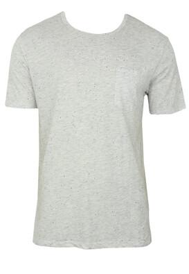 Tricou ZARA Lloyd Light Grey
