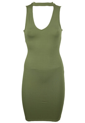 Rochie Pull and Bear Erika Dark Green