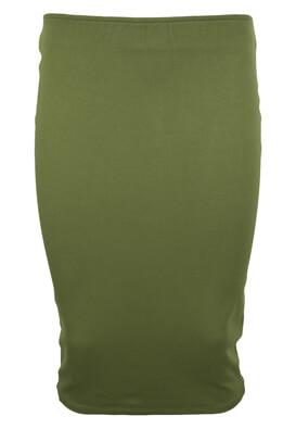 Fusta Pull and Bear Keira Dark Green