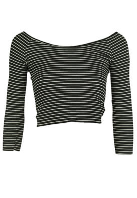 Bluza Pull and Bear Alice Black