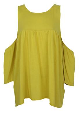 Bluza ZARA Mary Dark Yellow