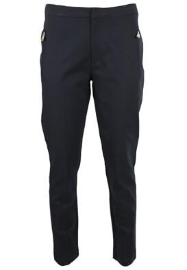 Pantaloni de stofa ZARA Sierra Dark Blue