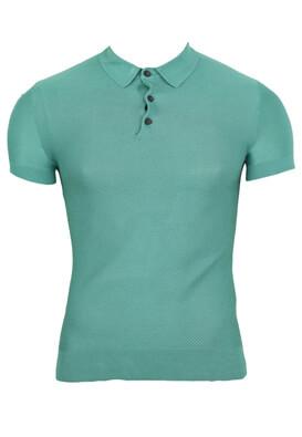 Tricou polo ZARA Della Turquoise