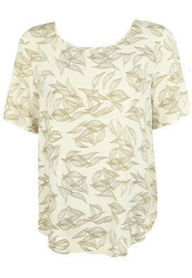 Tricou Only Riley Light Beige