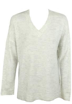 Bluza Pieces Basic Light Grey