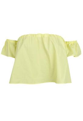 Tricou Bershka Enna Yellow