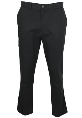 Pantaloni de stofa New Look Carros Black