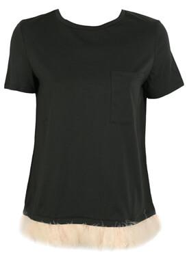 Tricou ZARA Elle Black