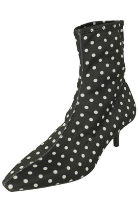 Botine ZARA Dots Black