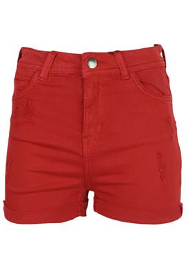 Pantaloni scurti Bershka Carla Red