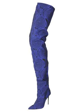 Cizme ZARA Ciara Dark Blue