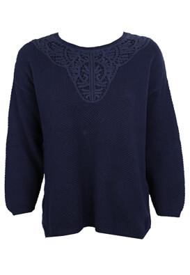 Bluza Reserved Elle Dark Blue