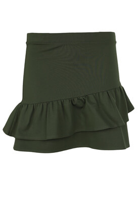 Fusta Sinsay Basic Dark Green
