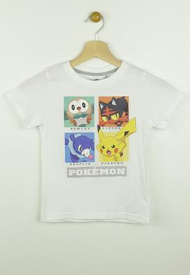 Tricou Pokemon Rowlet White