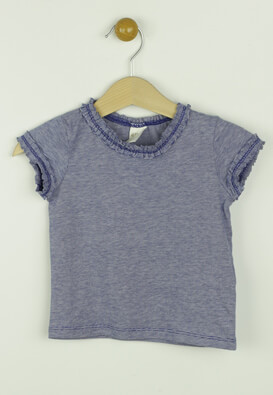 Tricou H and M Misha Dark Blue