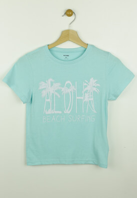 Tricou Kiabi Tropics Light Blue