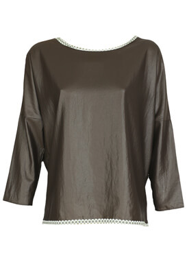 Bluza Miss Miss Jane Dark Brown