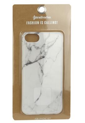 Husa telefon Stradivarius iPhone 6/7 White