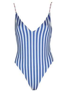 Costum de baie Stradivarius Victoria Blue