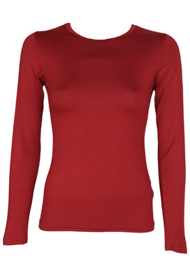 Bluza Miss Miss Yuna Dark Red