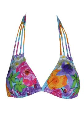 Costum de baie Hunkemoller Flowers Colors
