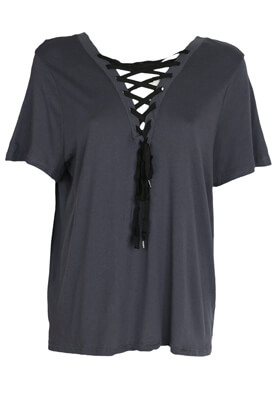 Tricou New Look Fay Dark Grey