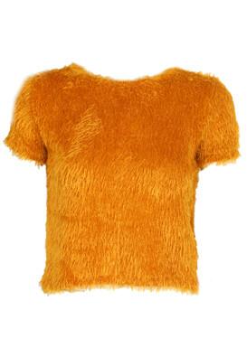 Tricou ZARA Nicole Dark Orange