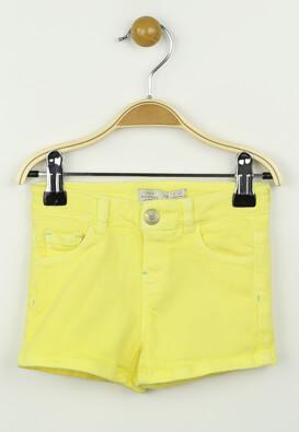 Pantaloni scurti ZARA Jessica Yellow