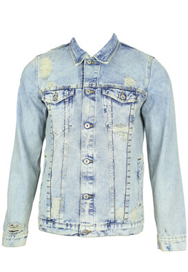 Geaca blugi ZARA Benny Light Blue