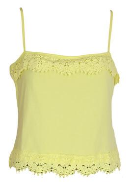 Top New Look Dasia Light Yellow