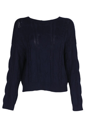 Pulover Stradivarius Amanda Dark Blue