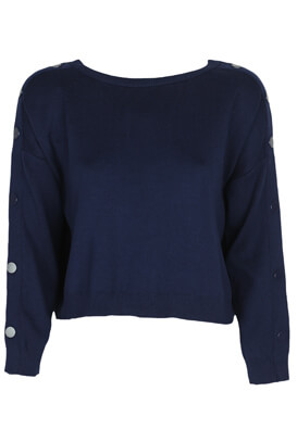 Pulover Stradivarius Giulia Dark Blue