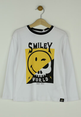 Pijama ZARA Smiley White