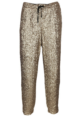 Pantaloni Next Shine Golden