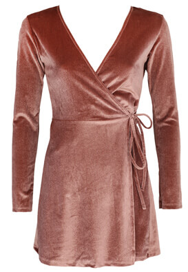 Rochie Pull and Bear Caty Light Brown