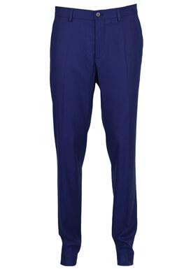 Pantaloni de stofa ZARA Billy Dark Blue
