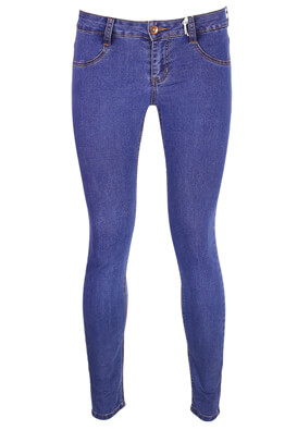 Blugi Pull and Bear Lizzy Dark Blue