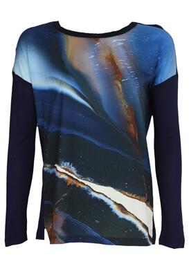 Bluza Reserved Celeste Dark Blue
