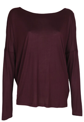 Bluza Reserved Brenda Dark Purple