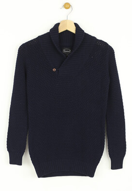Pulover Reserved Harry Dark Blue
