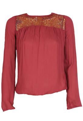 Bluza Reserved Dasia Dark Red