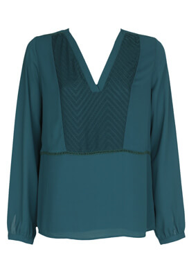 Bluza Reserved Nicole Dark Green