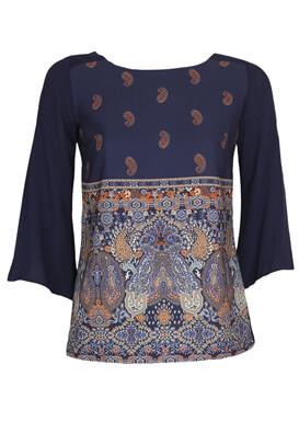 Bluza Reserved Carrie Dark Blue