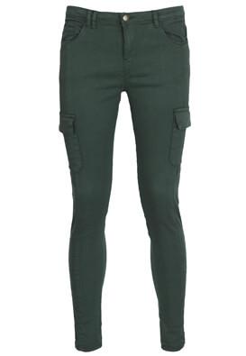 Pantaloni Cropp Hanna Dark Green