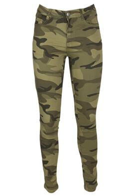 Pantaloni Cropp Ciara Dark Green