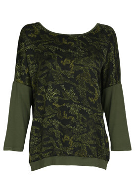 Bluza Reserved Hanna Dark Green