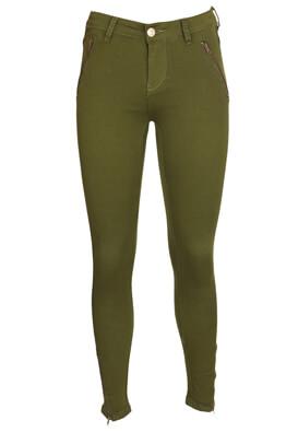 Pantaloni Cropp Carina Dark Green